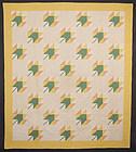 Maple Leaf Quilt: Circa 1920; Pennsylvania