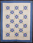 Pieced and Appliqued Quilt: Ca. 1920; Pa.