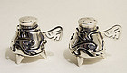 Salvador Teran Sterling Silver Salt and Pepper Shakers