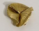 Tiffany 14 Karat Gold Brooch