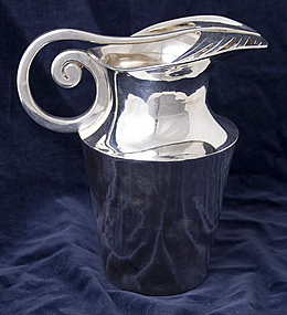 Hector Aguilar Sterling Silver Pitcher