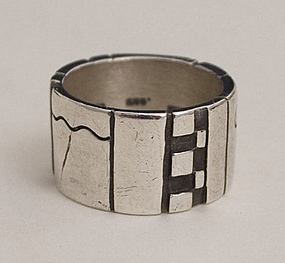 Lisa Jenks Sterling Silver Ring