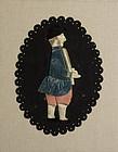 Fabric Silhouette: Circa 1860