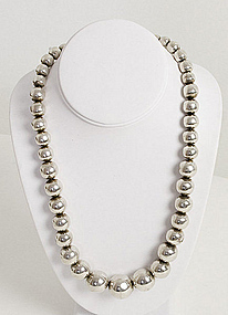 Hector Aguilar Sterling Silver Beads