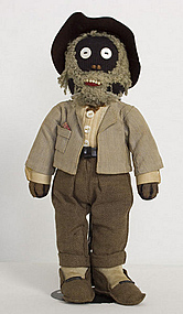 Black Man Rag Doll: Circa 1910; Pennsylvania