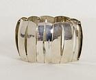 Astrid Gusterman Sterling Silver Bracelet