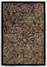 Hit or Miss Hooked Rug: Circa 1930; Massachusetts