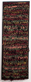 Abstract Hooked Rug: Circa 1920