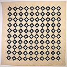Chimney Sweep Quilt: Circa 1880; Pennsylvania
