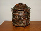 Ancient Kuba Wood Vessel