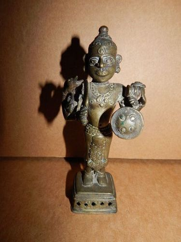 18th C Indian Bronze Shiva
