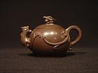Yixing Teapot Dragon Phoenix Li & Shen Collaboration
