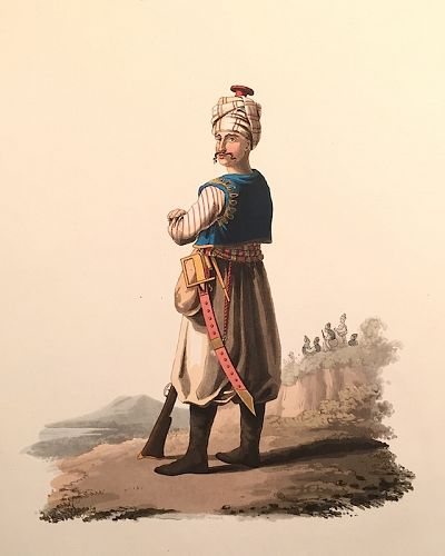 JANIZARY ONE Historical Military Costume Turkey McLean 1818 London