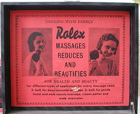 1934 Quack Medicine Medical Rolex Massage Machine