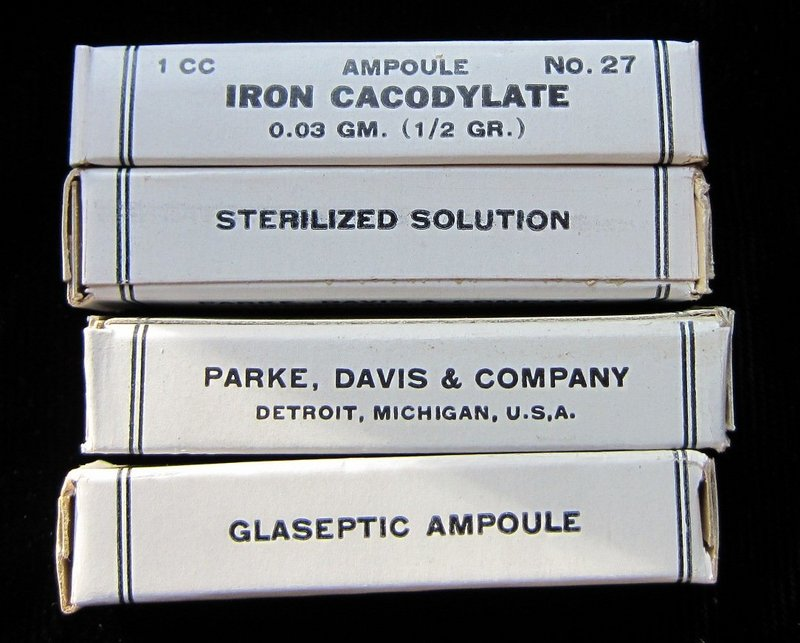 Arsenic + Iron Quack Medicine Anemia Cure Pharmacy Medicine