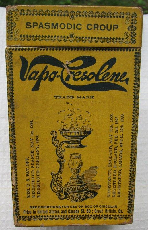 Victorian Vapo Cresolene Lamp Asthma Lung