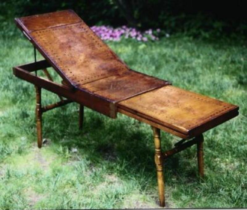 RARE Civil War Field Surgical / Mortuary Gleasons Table