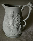 ExRARE 1853 Staffordshire Uncle Toms Cabin Slavery Jug