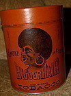 Black Americana 1949 BIGGER HAIR FormerNiggerHair Tobacco Tin