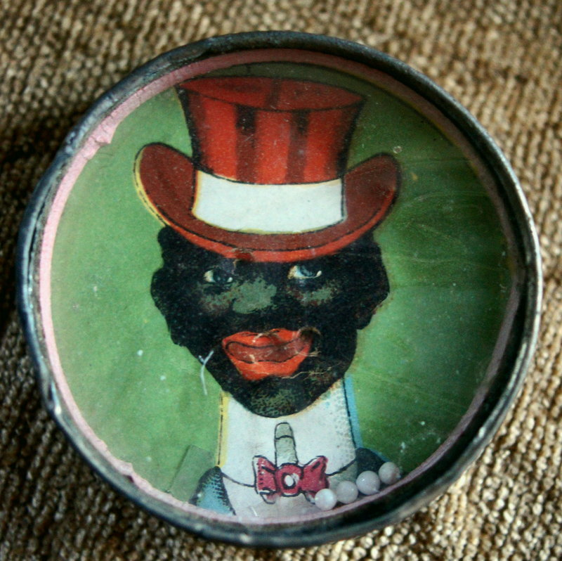 1920s Black Memorabilia Top Hat Dandy Dexterity Puzzle