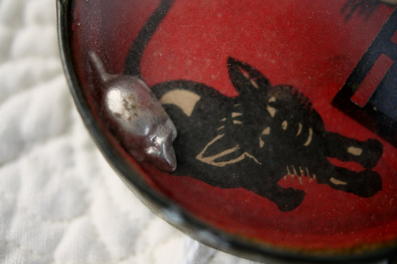 C1920 Antique Cats and Mice Dexterity Puzzle Germany