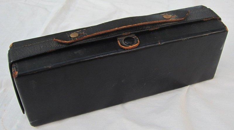 WW2 Navy Doctors Leather Medicine Case w/Contents
