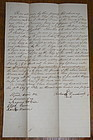 ExRARE1847 Slave Freedom Manumission Document Tennessee