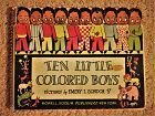 1942 Ten Little Colored Boys Book Black Americana