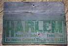 C1920 Jim Crow Segregation Sign HARLEM Colored Theater