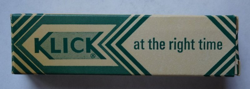 RARE Vintage Sex Quack  Medicine Ointment KLICK AT THE RIGHT TIME