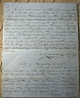 RARE 1861 Civil War Slave Manumission Document Virginia AA Cowdery