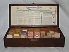 Vintage 1920s SS White Dental Dentist Burs Boxed Case