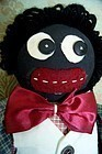 C1950s Black Americana Handsomely Attired Gentleman Golliwogg Doll