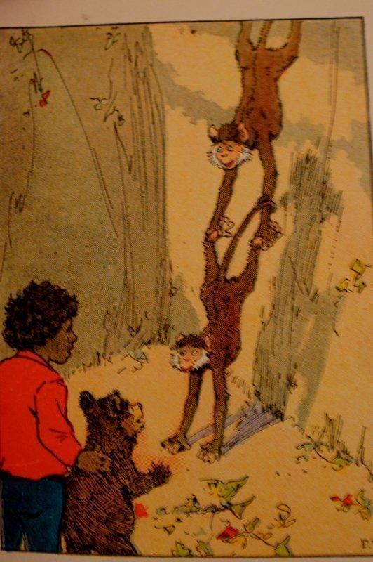 1935 Platt&Munk 1st Ed. Book Little Black Sambo and The Monkey People