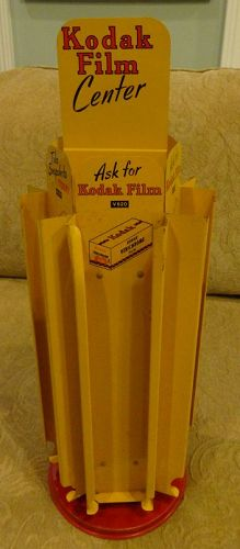 VisuallyAppealingGraphic 1950s Kodak Rotating Film Advertising Display