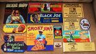 59 VINTAGE 1940-50 Advertising Labels Black Americana FullColor UNUSED