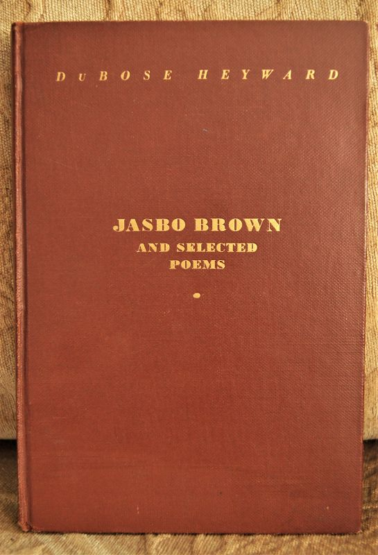 JASBO BROWN and Selected Poems of Black Culture by DuBose Heyward