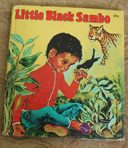 1959 Classic LITTLE BLACK SAMBO TELL-A-TALE Book