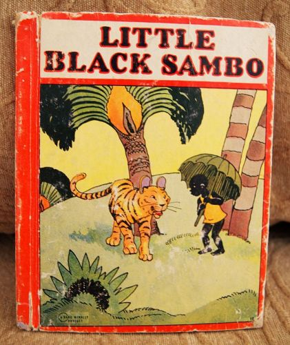 1927 Black Americana Little Black Sambo Children's Story Book