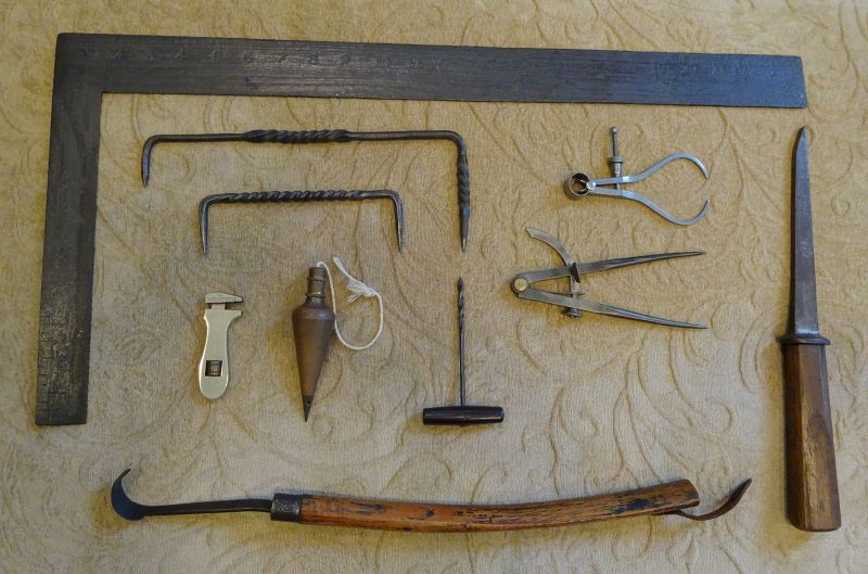 19th Century American and English Woodworking Tools Group of Ten