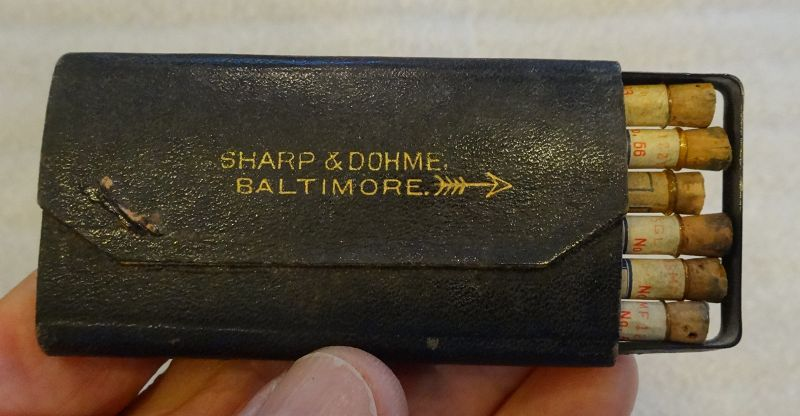 Scarce C1920 Sharpe Dohme Hypodermic Medicine Case Baltimore