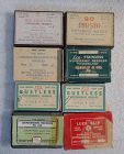 8 Boxes 1930-1940s Vintage Medicine Hypodermic Needles Pharmacy