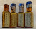 Four Scarce 19thC Homeopathic Medicines Humphries and Luyties St Louis