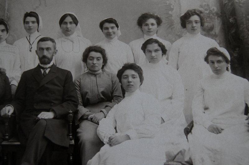 RARE 1880s Hospital Nurse School Graduation Photograph