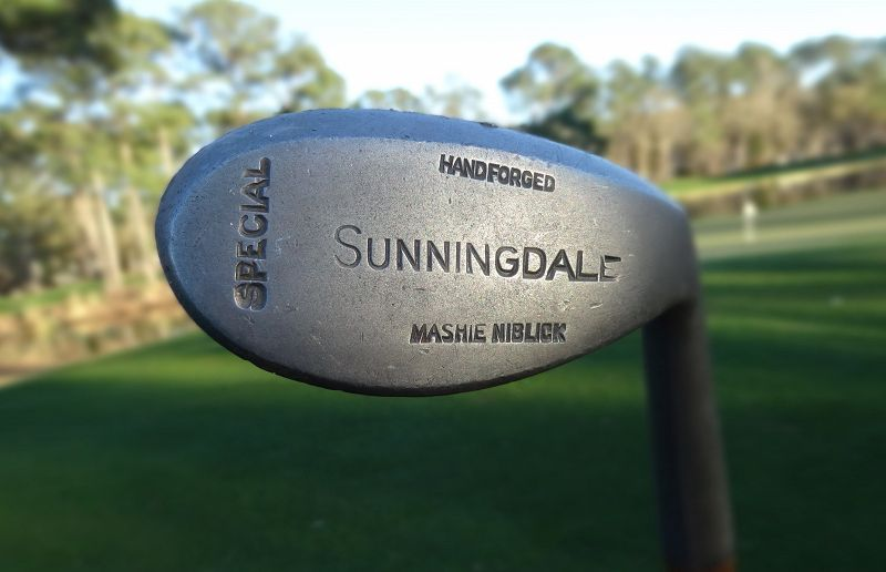 3 UK Golf Clubs Sunningdale Hickory Driver Mashie Niblic Putter 1920