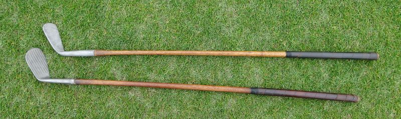 Scarce Hickory Shaft Golf Club with Smooth Face C1920 Wright Ditson