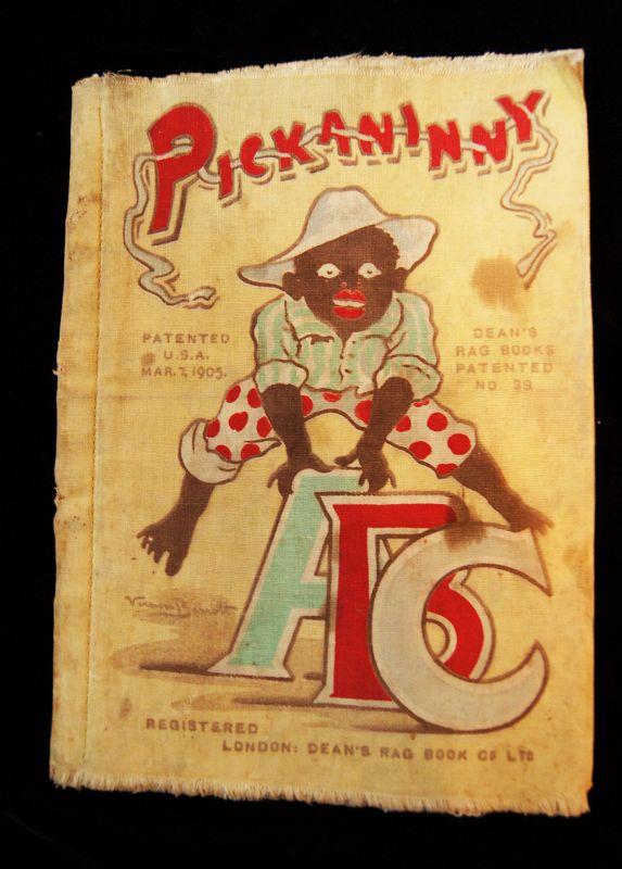 Very Rare 1905 Pickaninny ABC Deans Rag Book London Black Memorabilia