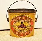 C1920 Pickaninny Brand Peanut Butter 1 LB Tin FM Hoyt Co Amesbury MA