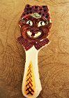 Colorful 1950s Black Memorabilia Mammy Spoon Rest Made In Japan
