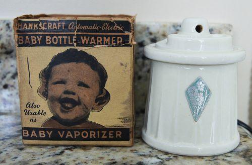 Delightful 1945 Baby Vaporizer Bottle Warmer Pharmacy Drugstore